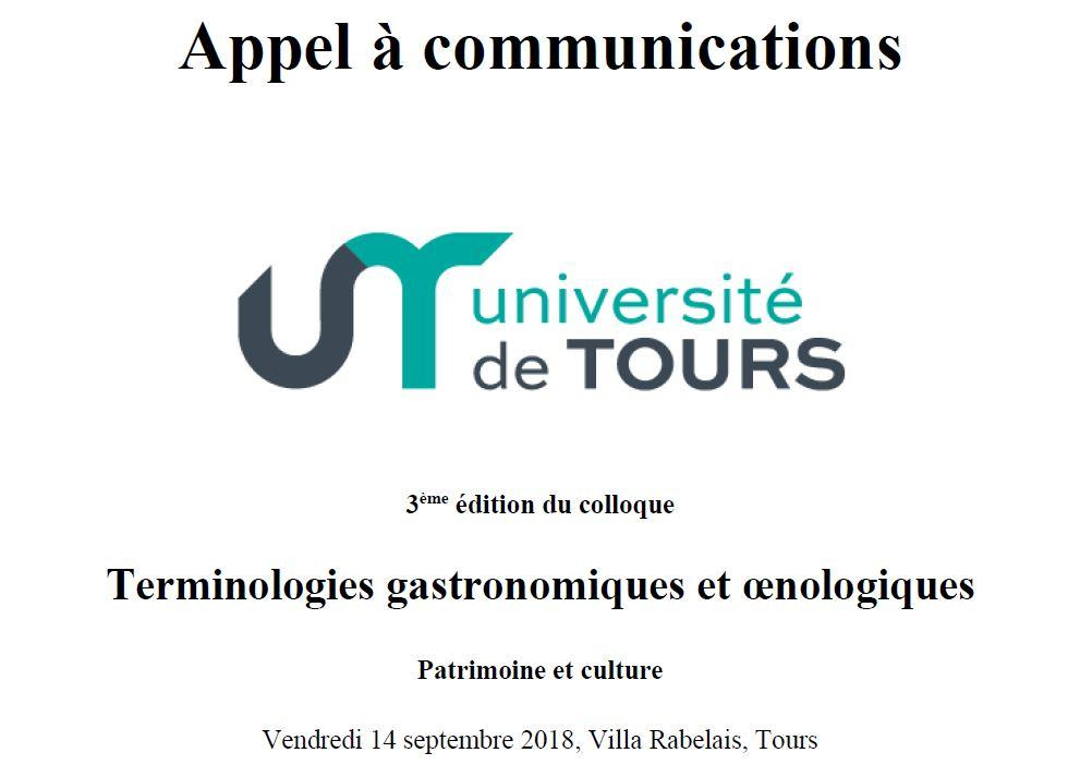Rencontres oenologiques 2018